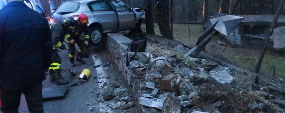 Grave incidente a Parre Code e rallentamenti in Valle Seriana