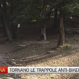Maresana, tornano le trappole anti-biker