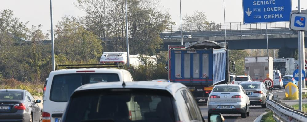 Traffico intenso in Valseriana Segui le nostre news in tempo reale