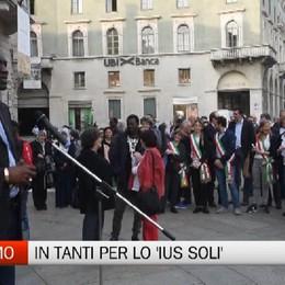 Bergamo - In duecento per lo 'Ius soli'