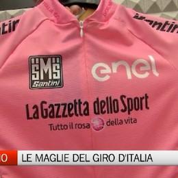 Ciclismo, le maglie del Giro d'Italia made in Bg