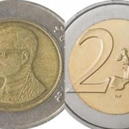 Truffa in agguato, attenzione al resto Monete thailandesi al posto dei due euro