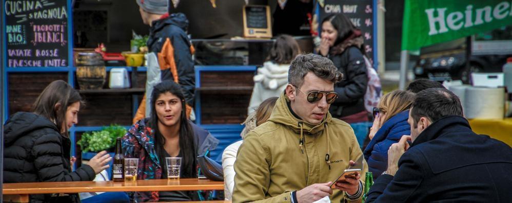 Aria di primavera, arriva lo «street food» Due giorni di cibo in piazzale Alpini