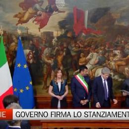 Firma a Roma, arrivano i soldi per le periferie di Bergamo