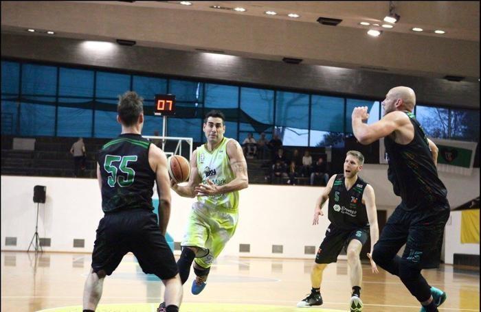Basket serie B 2016/17 Mario Josè Ghersetti della Comark Bergamo foto Prezioso