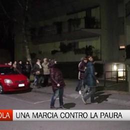 Bergamo, Colognola: una marcia contro la paura