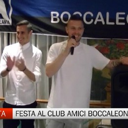 La festa del Club Amici dell'Atalanta Boccaleone