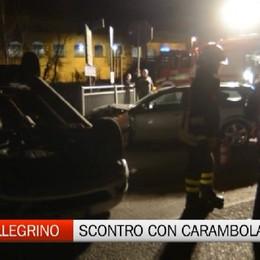 San Pellegrino Terme, violento incidente stradale