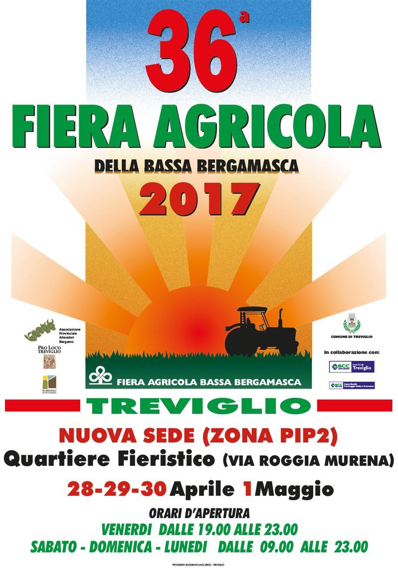 36ESIMA FIERA AGRICOLA DELLA BASSA BERGAMASCA