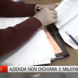 Castro, azienda non dichiara 1 milione di euro