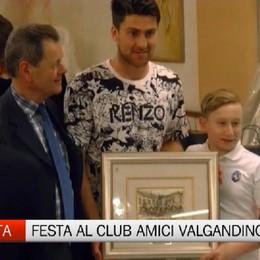 Club Amici Valgandino, è Zukanovic il Bravo Papà 2017