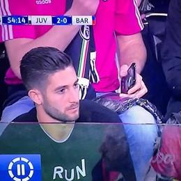 Gagliardini (e Spinazzola) a Juve-Barça E gli interisti la prendono parecchio male