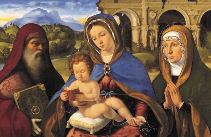 Un dipinto del Baschenis
