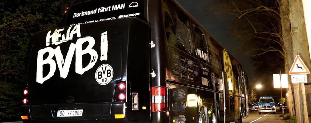 Le esplosioni a Dortmund «Il Borussia era l'obiettivo»