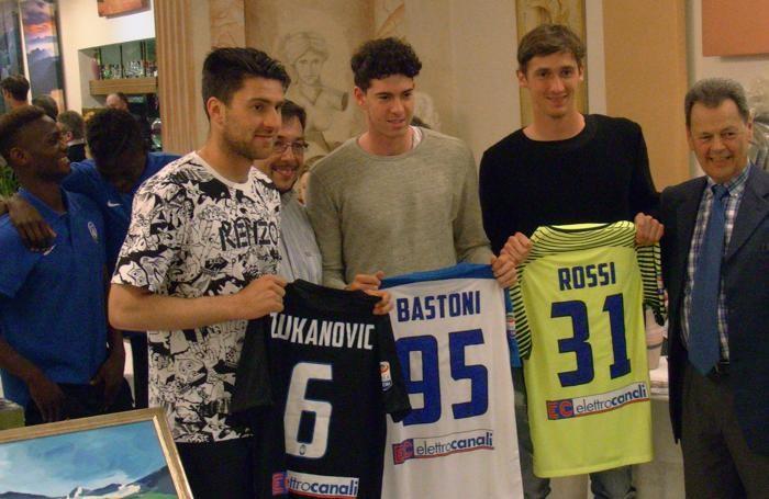 Zukanovic, Bastoni e Rossi