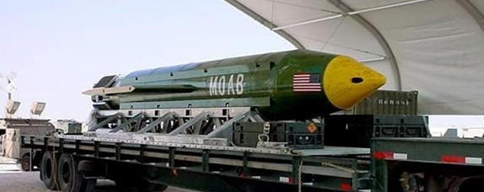 Gli Usa sganciano la «super bomba» Obiettivo: i tunnel dell'Isis in Afghanistan