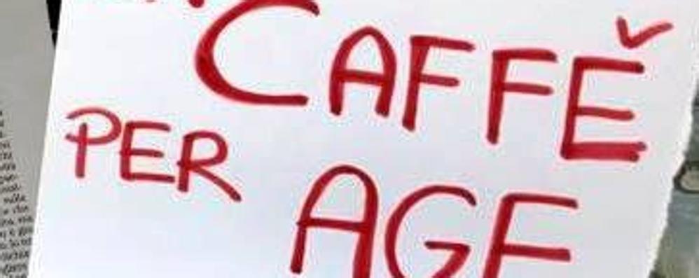 Lallio, dopo la marmellata altro esposto Vigili al bar, via cartello «Caffè per Age»