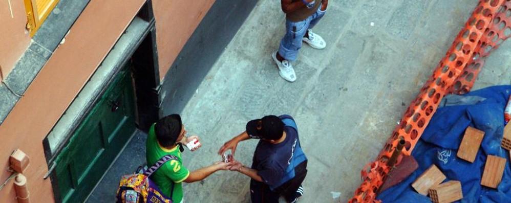 Offre hashish ad agenti in borghese Arrestato 20enne in via Bonomelli