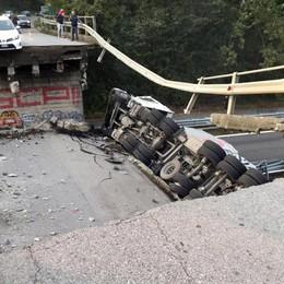 Nicoli: «Il ponte crollato ci è costato 700 mila euro»
