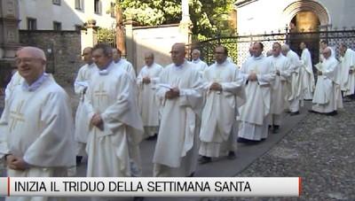 Il vescovo al Giovedì Santo: sacerdoti protagonisti del cambiamento