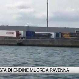 Ravenna - Camionista di Endine muore al porto