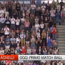 Caloni: primo match ball