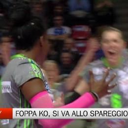 Quarti play off: Foppa ko in gara 2