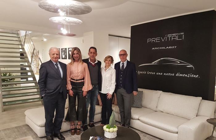 Gianemilio Brusa, Sara Doneda,  Massimiliano Previtali, Simona Bonaldi e Silvano Lanzi