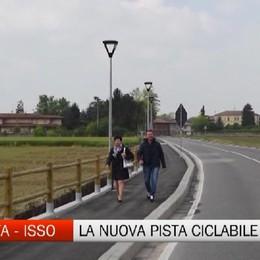 Barbata-Isso, inaugurata pista ciclopedonale