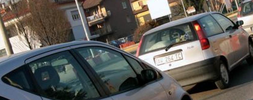 Incidente tra Mozzo e Curno Traffico in tilt nella zona