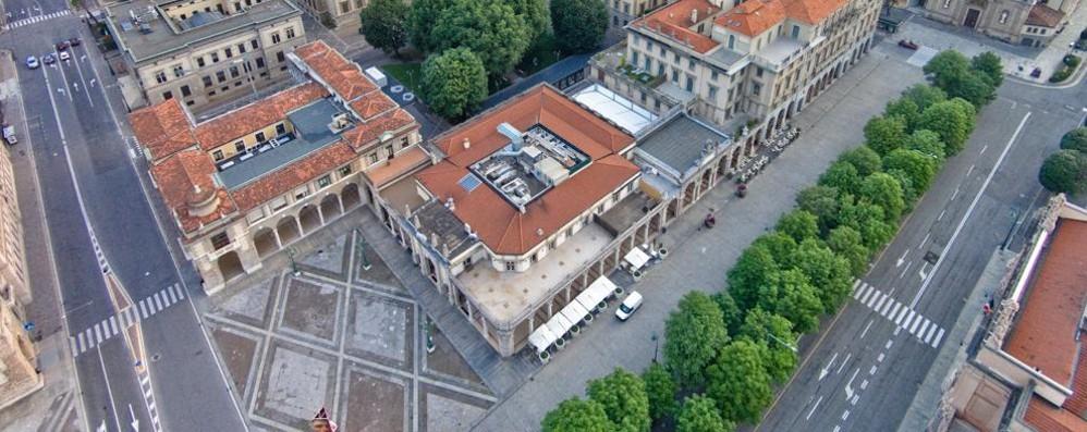 Bergamo, il centro cambia «Meno auto e più negozi»