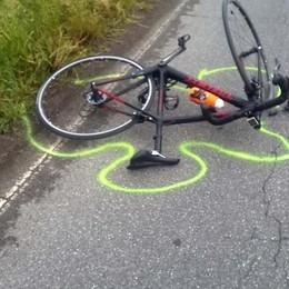Ciclista 71enne investito a Palosco Ricoverato in prognosi riservata -Foto