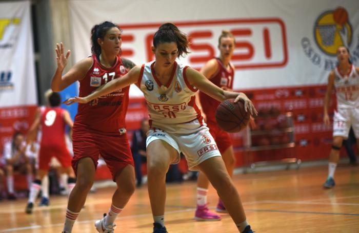 Basket serie A2 femminile 2016/17 Giulia Vincenzi della Fassi Gru Edelweiss Albino