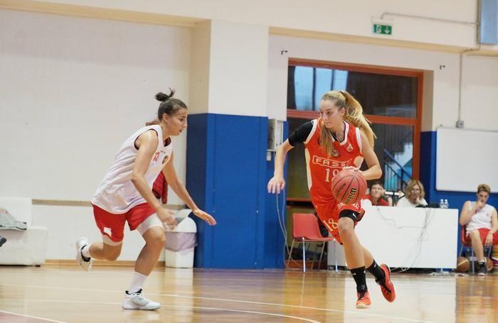 Basket serie A2 femminile 2016/17 Chiara Lussana della Fassi Gru Edelweiss Albino