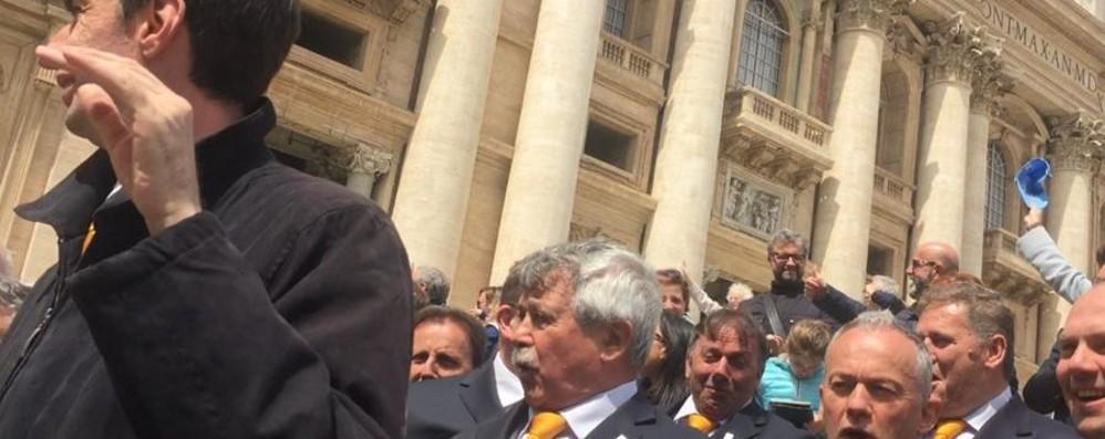 Idica, 60 anni in coro e festa a Roma in Piazza San Pietro e al Senato