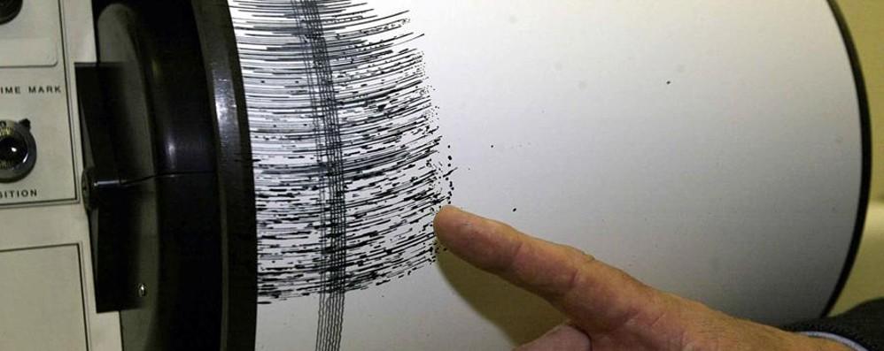 Lieve scossa in Valle Seriana Epicentro del terremoto a Cerete