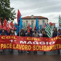 Anche a Bergamo il corteo dell'1 maggio «Lavoro: nostre radici, nostro futuro»