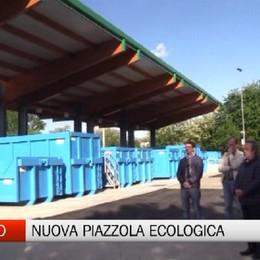 Albano Sant'Alessandro, la nuova piazzola ecologica