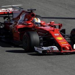 Gp di Russia, prima fila tutta Ferrari Vettel in pole, Raikkonen secondo