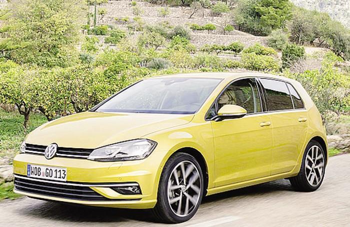 La Volkswagen Golf