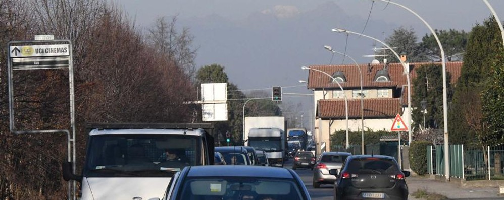 Ecco come evitare code e traffico Ciclista investito a Seriate: lunghe code