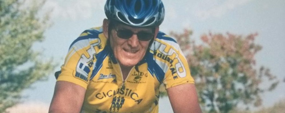 Malore mentre va in bici, muore sui Colli La vittima è il decano dei ciclisti di Zanica