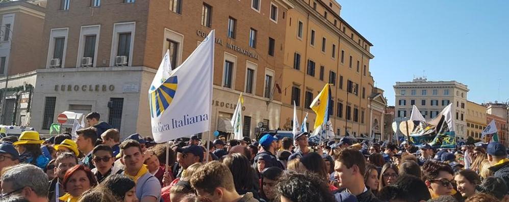 Anche da Bergamo in San Pietro per il 150° di Azione Cattolica
