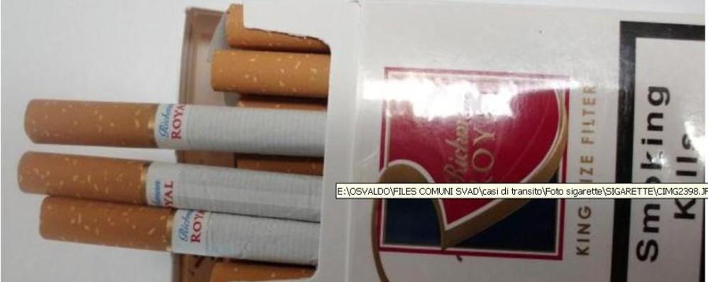 Contrabbando sigarette,sgominata banda Le «bionde» passavano da Bergamo