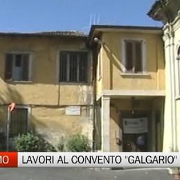 Convento del Galgario, a giugno parte la ristrutturazione