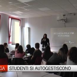 Gazzaniga, l'autogestione degli studenti dell'ISISS