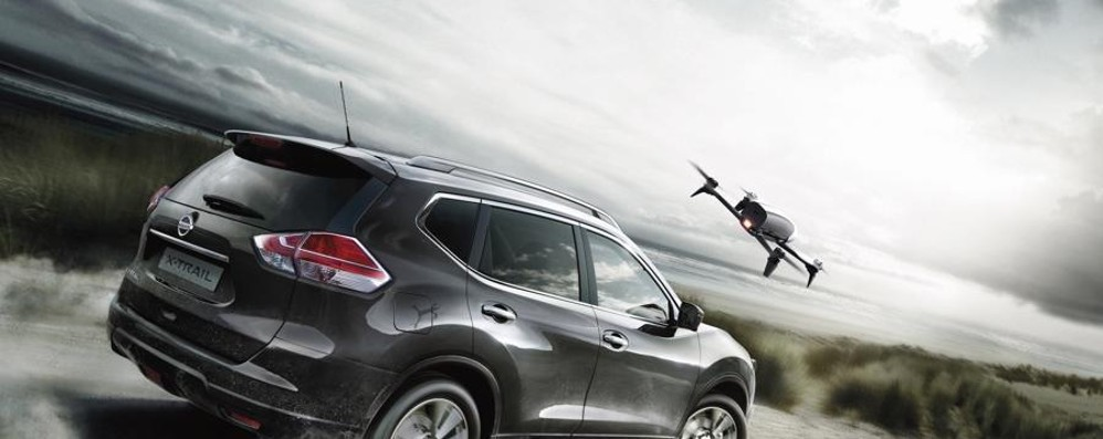Quando l'auto non ha confini Compri la macchina, c'è anche il drone
