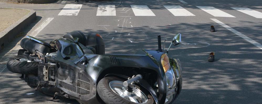 Treviglio, investimento fatale Muore 94 enne travolta da uno scooter