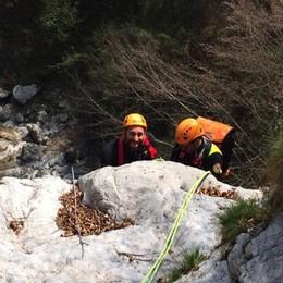 Torrenti, gole e canyon bergamaschi Il soccorso alpino si esercita da noi - Foto