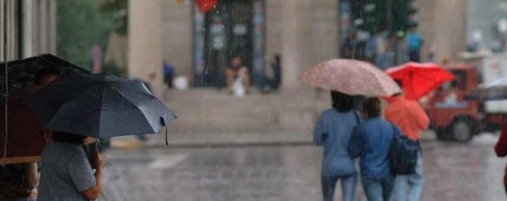 Attenzione ai temporali Il weekend è ancora a rischio